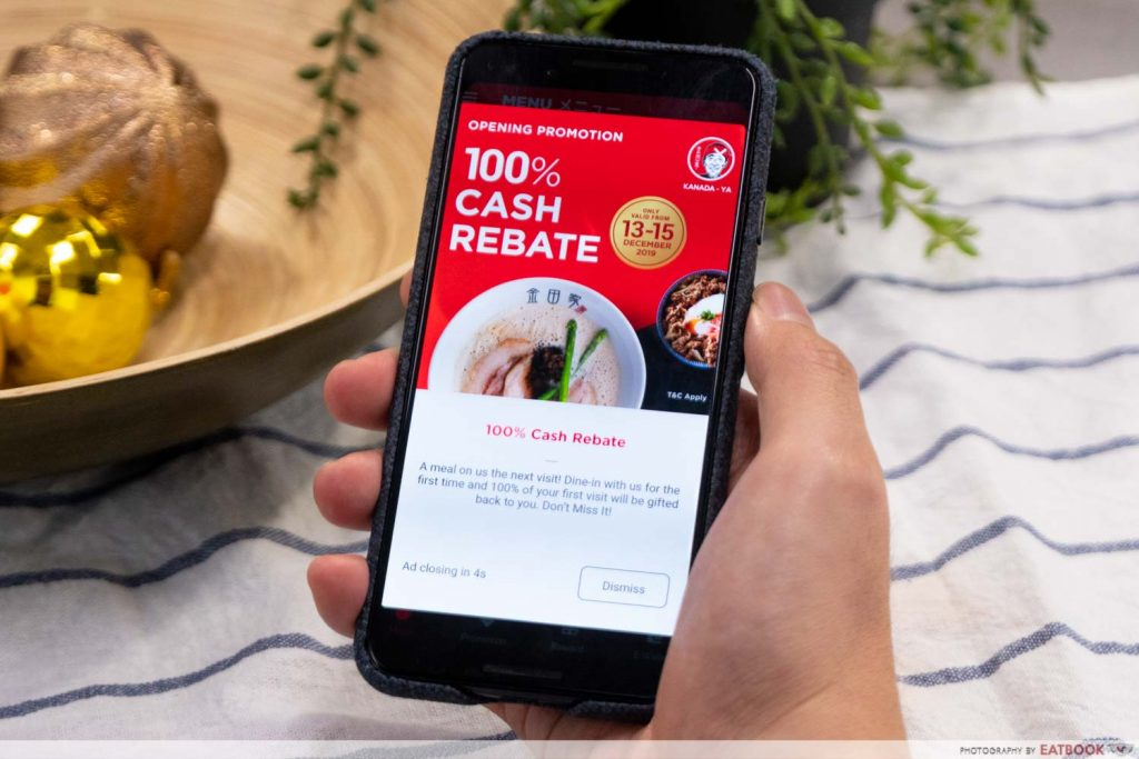 Kanada-Ya app discount