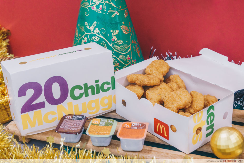 McDonald's Festive Happy Sharing Box - 40-piece McNuggets