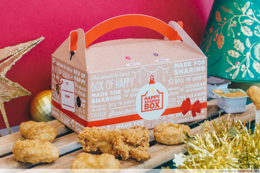 McDonald's Festive Happy Sharing Box - Sharing Box