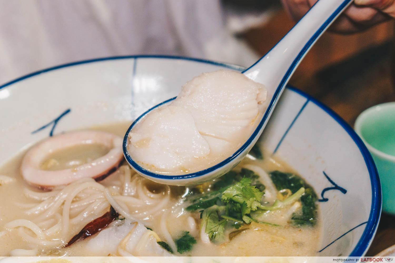 Mister Wu - Seafood Noodles