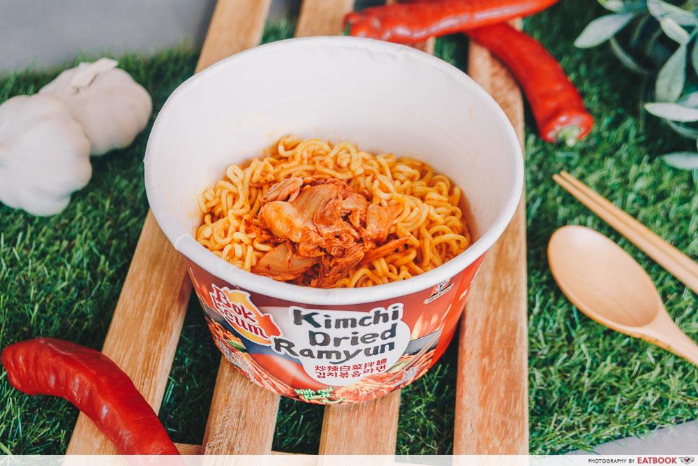 Nongshim - Bokkeum Kimchi Dried Ramyun Big Bowl