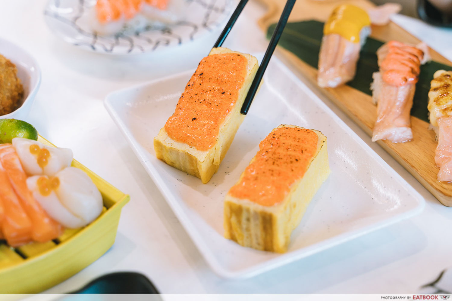Sushi Plus - Cheese Masago with Tamagoyaki