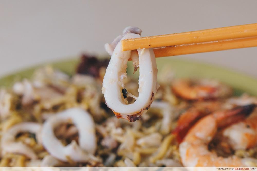 Swee Guan Hokkien Mee Squid Rings