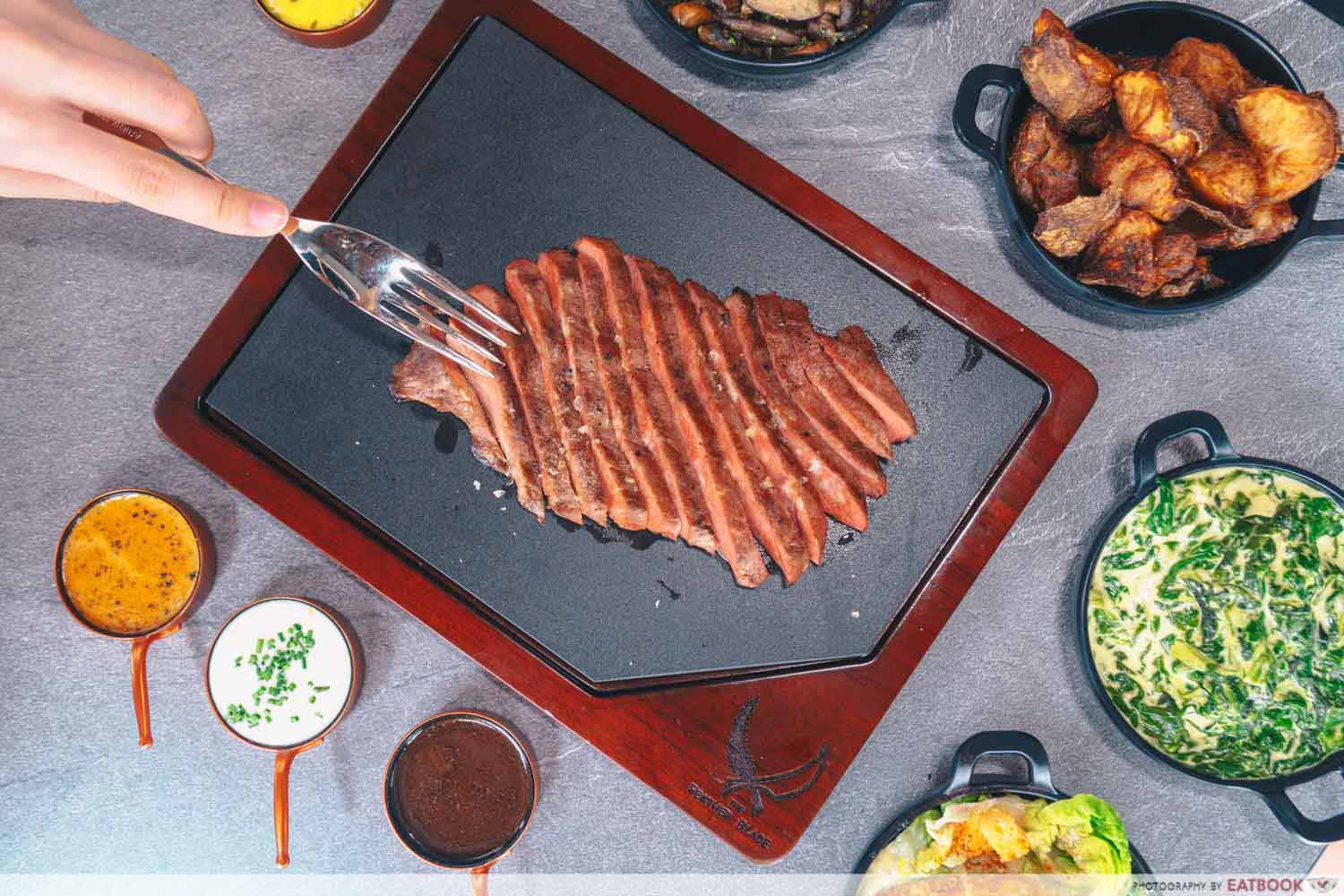 The Feather Blade - Steak