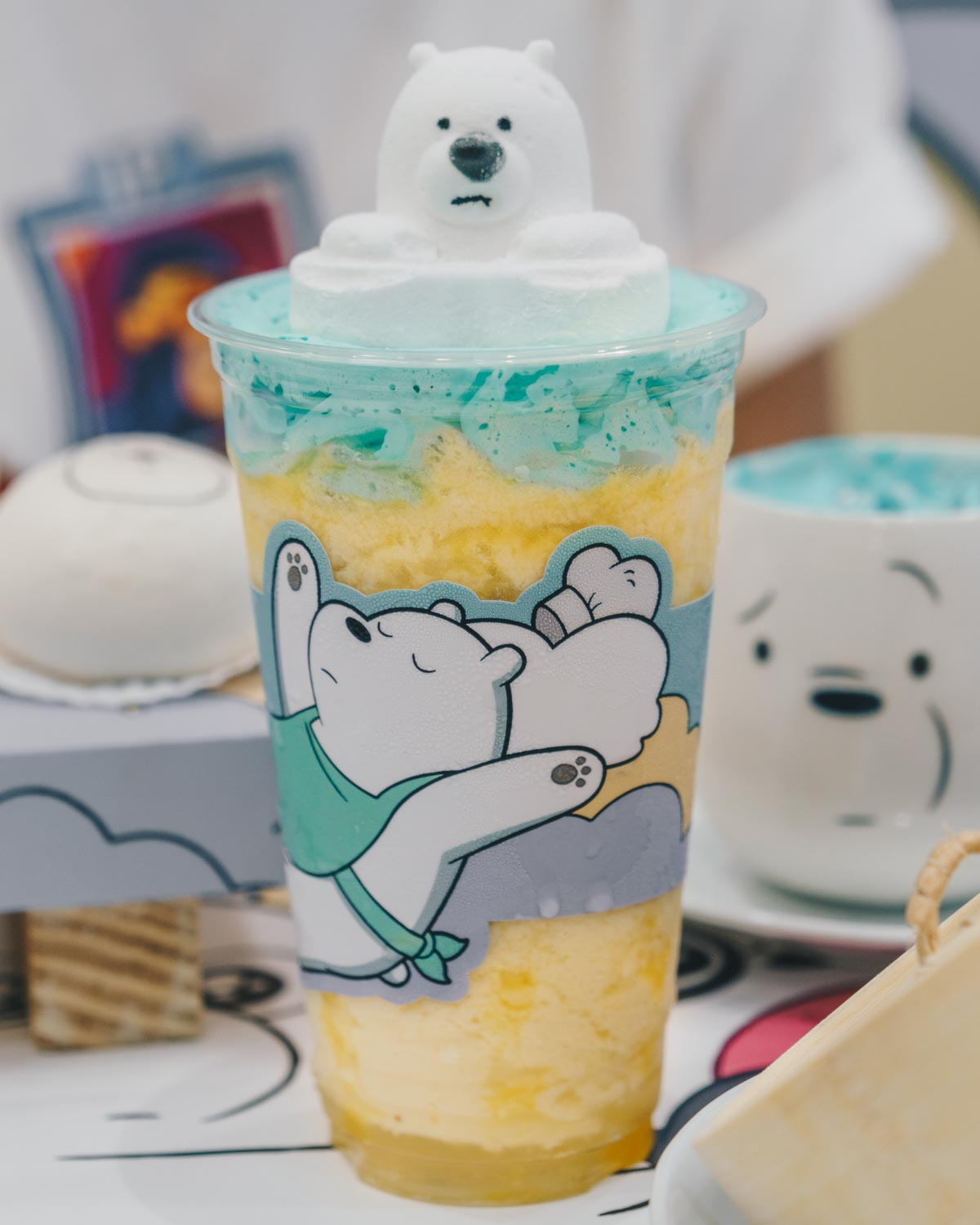 We Bare Bears Cafe - Mango Tango Frappe