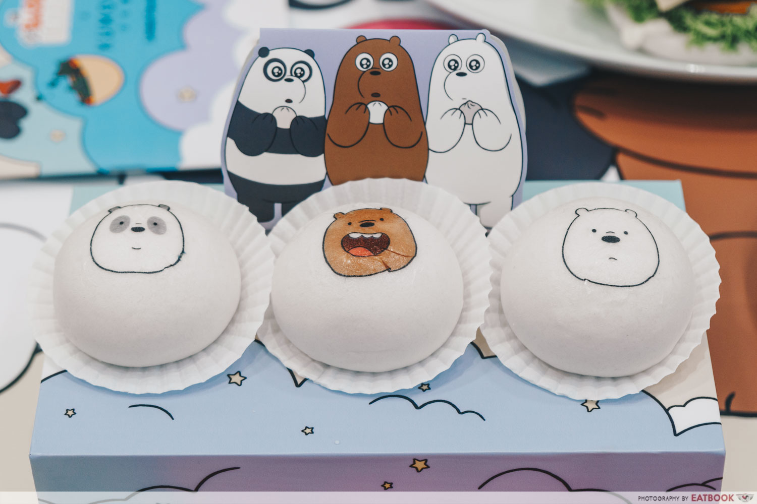 We Bare Bears Cafe - Special We Bare Bear Baos