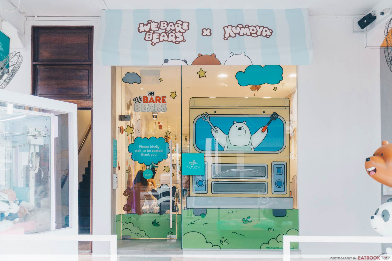 We Bare Bears Cafe - Storefront