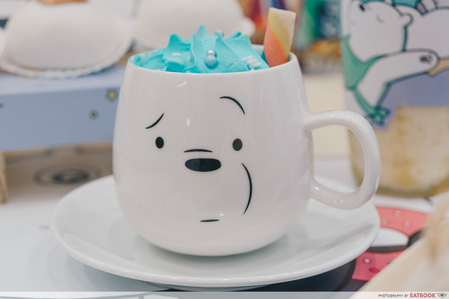 We Bare Bears Cafe - Too Cool Hot Latte