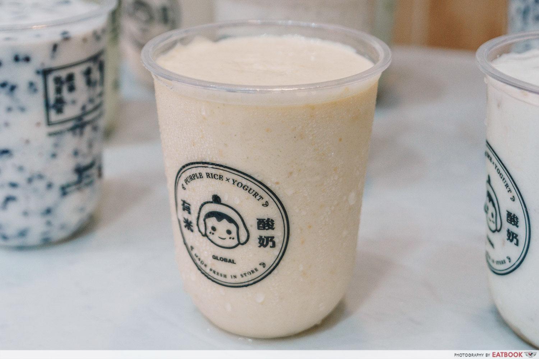 Salted Egg Yogurt