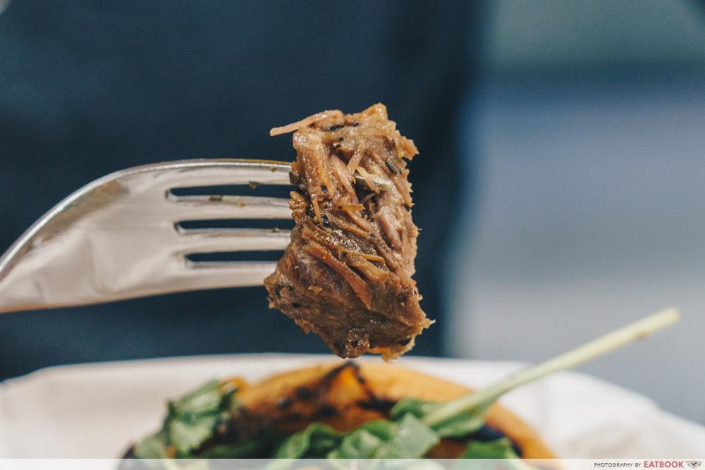 Zoey's Diner Pepper Braised Steak cut up