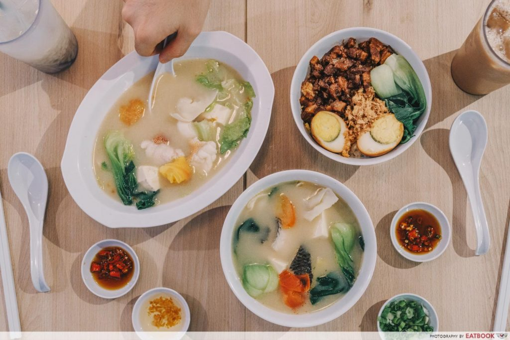 velocity food xin wah kee spread