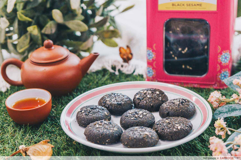 Baker's Brew - Black Sesame Cookies