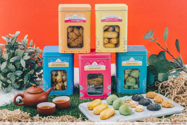 Baker's Brew - Minature biscuit tins