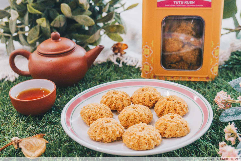 Baker's Brew - Tutu Kueh Peanut Cookies