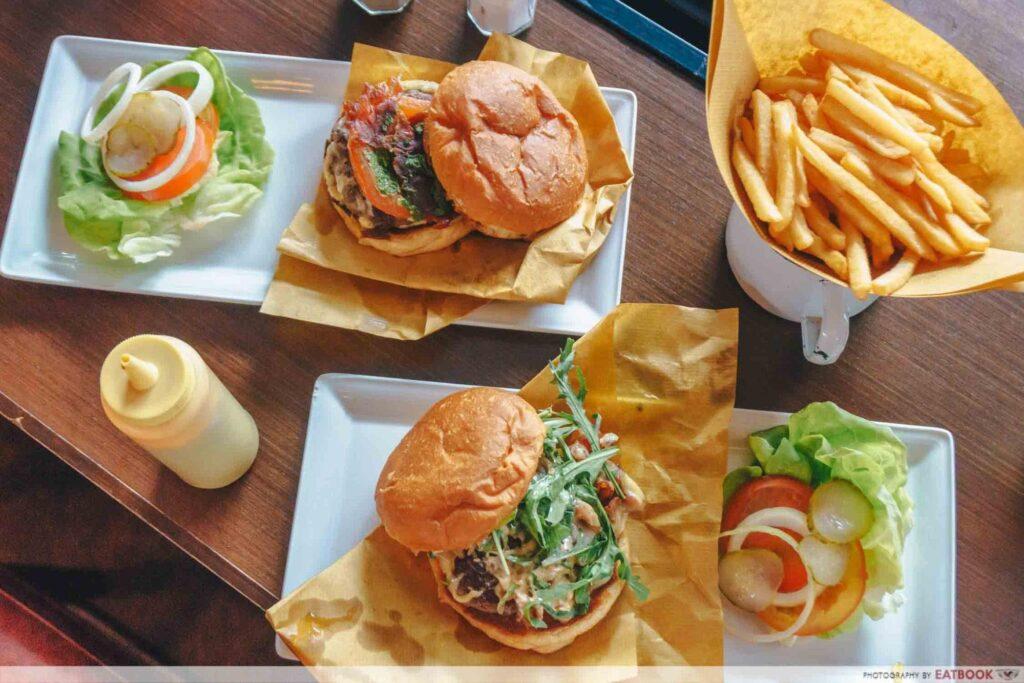Best Burger Singapore 25 degree's burger