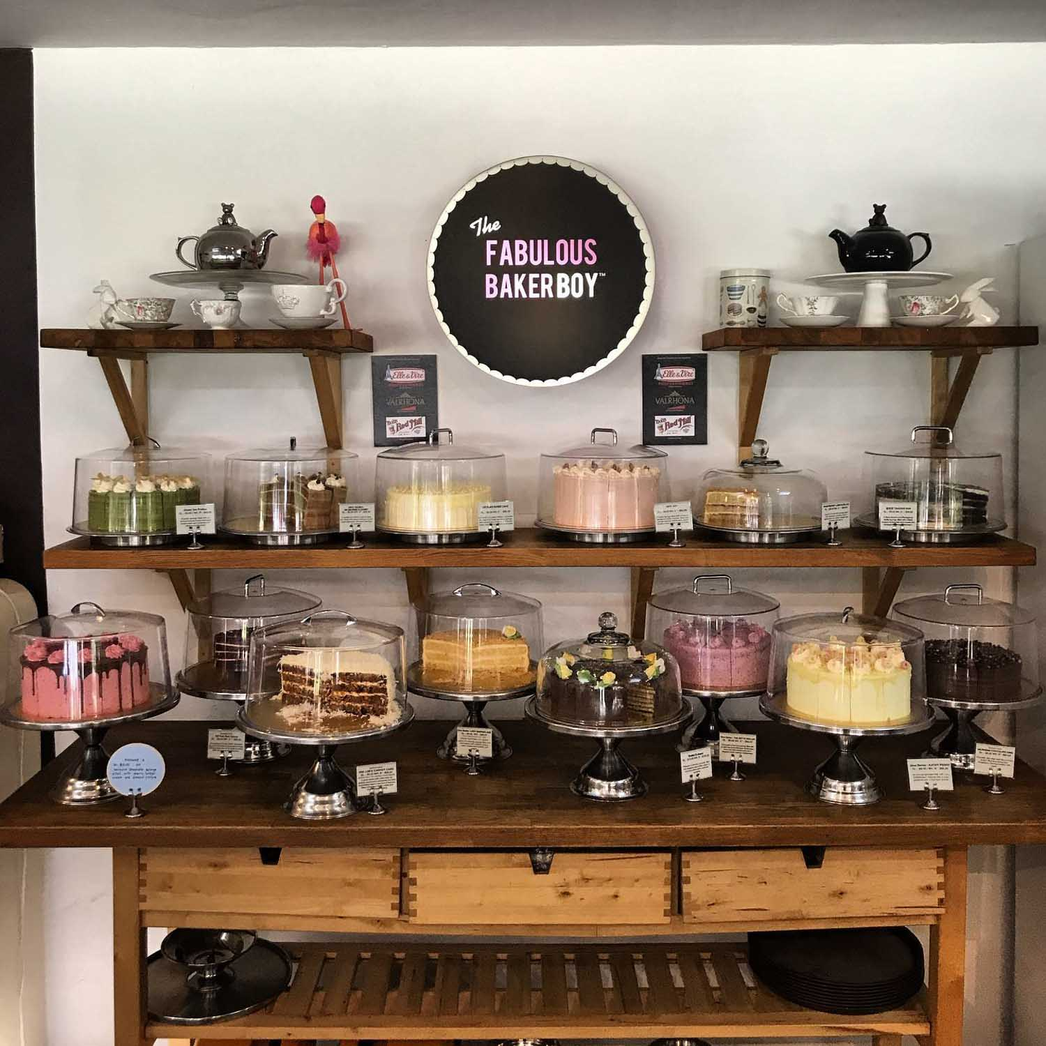 Birthday Cake Shops - The Fabulous Baker Boy