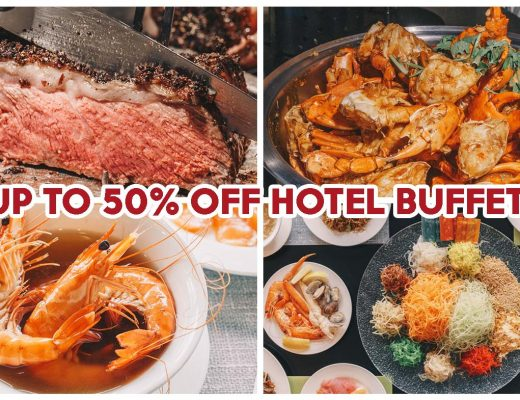 Chinese New Year Hotel Buffet