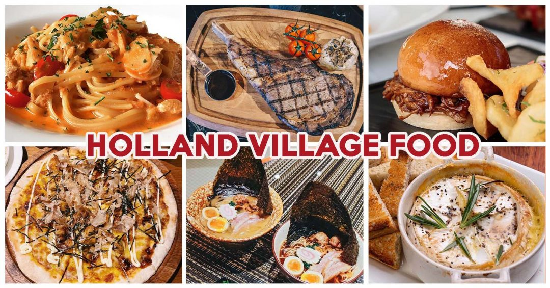 Holland Village Cover Image
