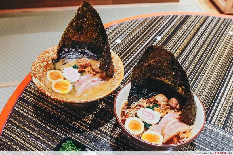 Holland Village Food Kamo Soba Keisuke