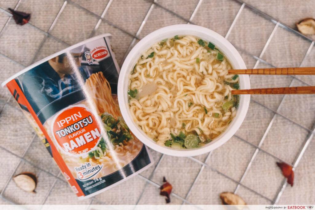 Ippin Ramen Tonkotsu Ramen Noodle