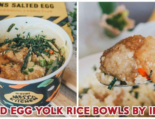Irvins Salted Egg Rice Bowls