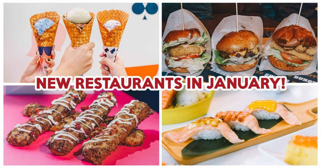 January New Restaurants - Featured image