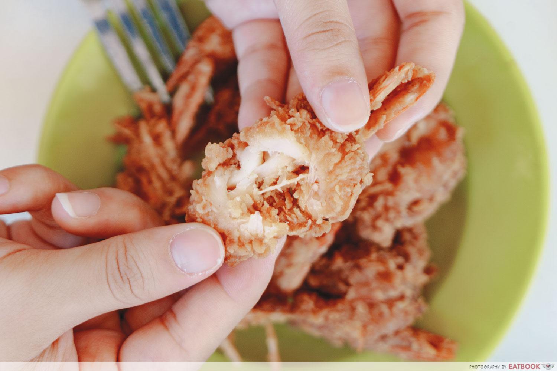 No Name Curry Rice - Cereal Prawn Closeup
