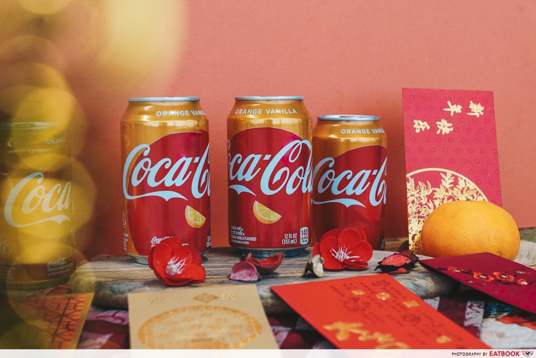 Orange Vanilla Coca Cola - Orange Vanilla Coca Cola