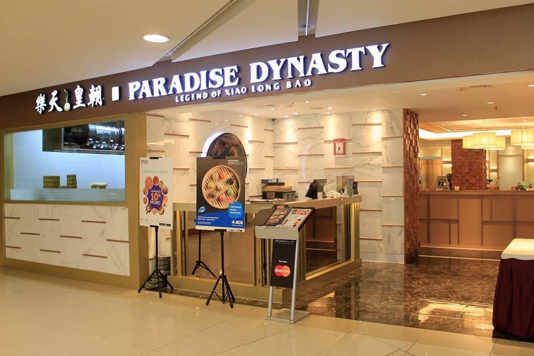 Singapore Food Overseas Paradise Dynasty