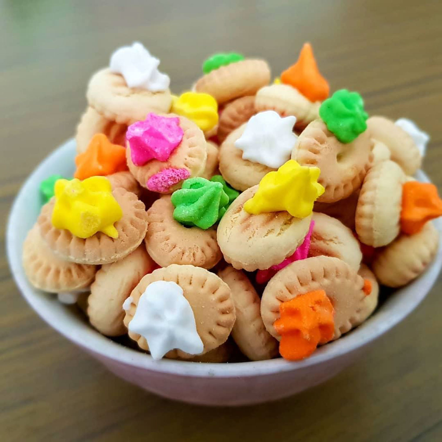 Primary School Snacks - Iced Gem Biscuits