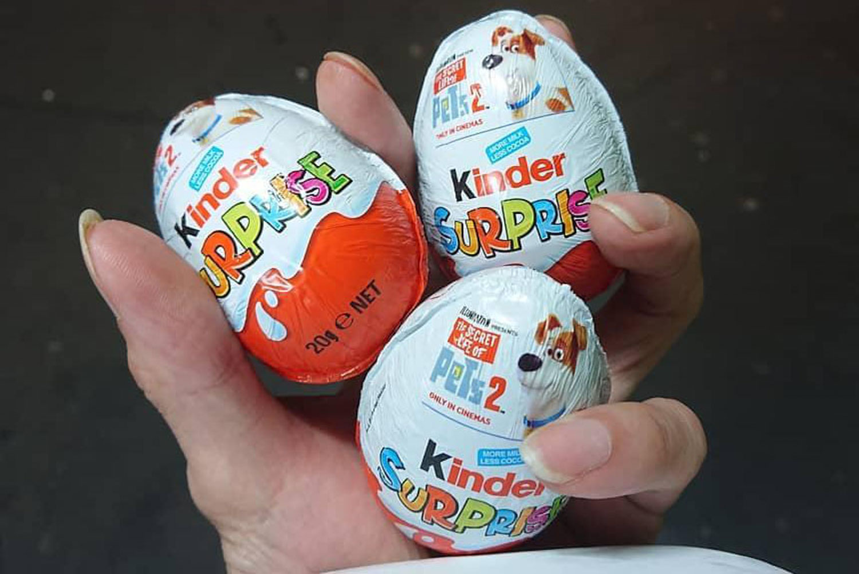 Primary School Snacks - Kinder Surprise