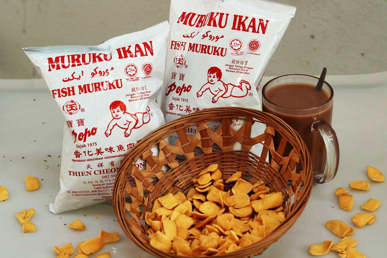 Primary School Snacks - Popo Muruku Ikan
