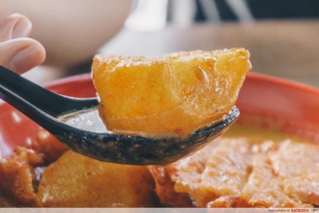 Q Hor Fun Potato Curry