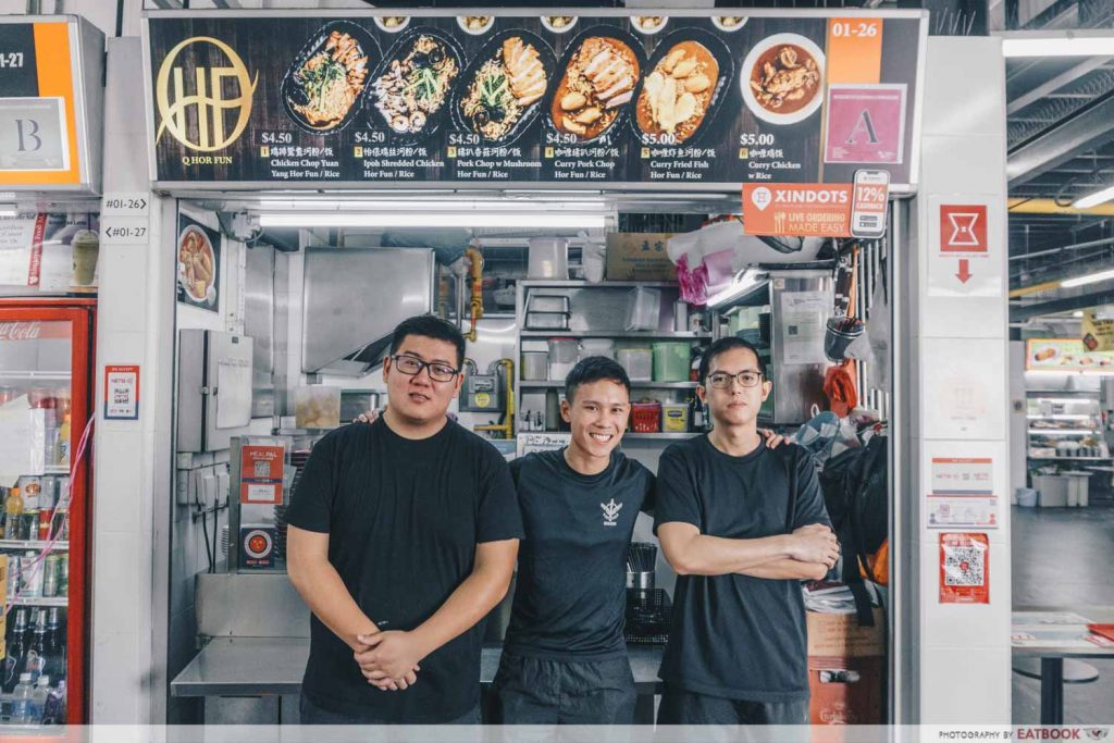 Q Hor Fun owners