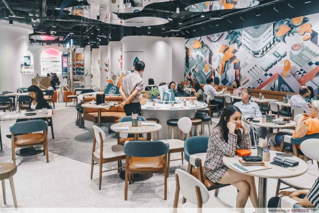 Tiong Bahru Bakery Diner ambience