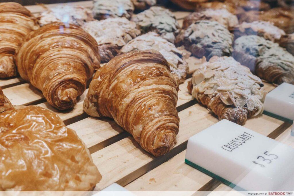 Tiong Bahru Bakery Diner croissants