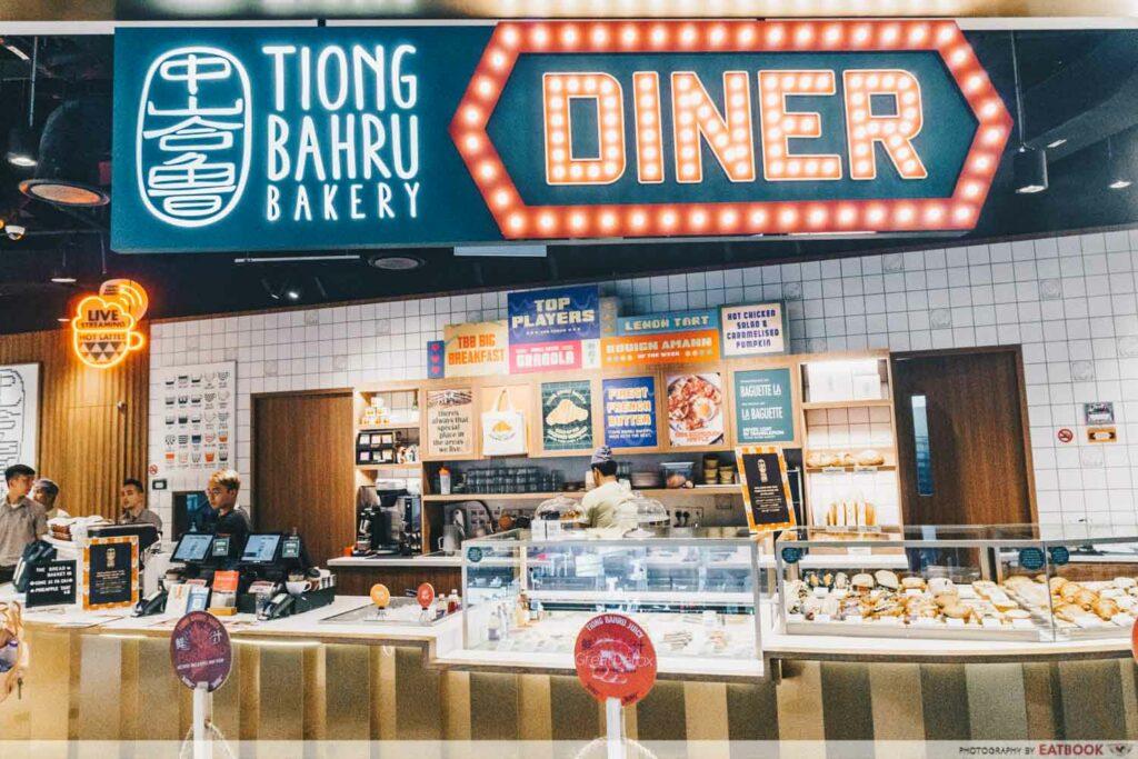 Tiong Bahru Bakery Diner store front shot