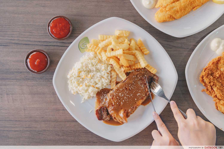 Tip Top Western Food - Beef Steak