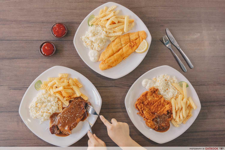 Tip Top Western Food - Flatlay