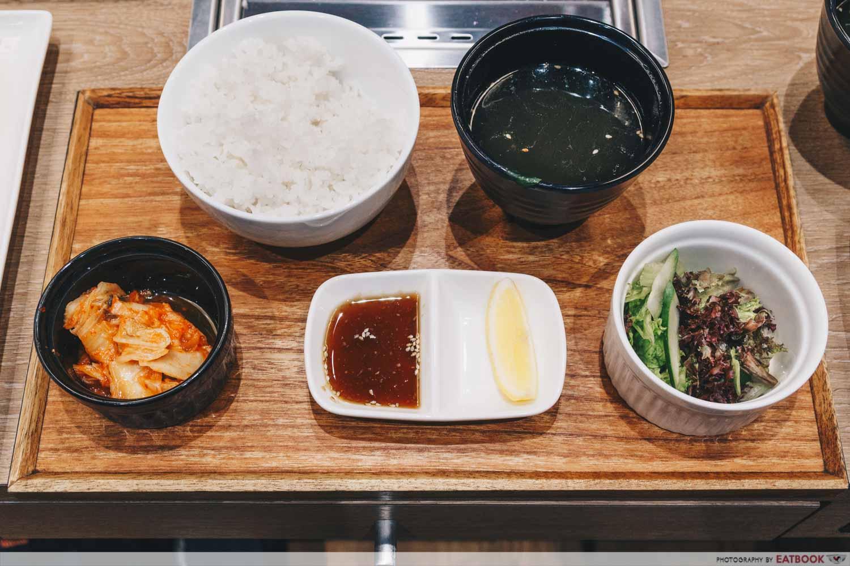 Yakiniku Like set meal