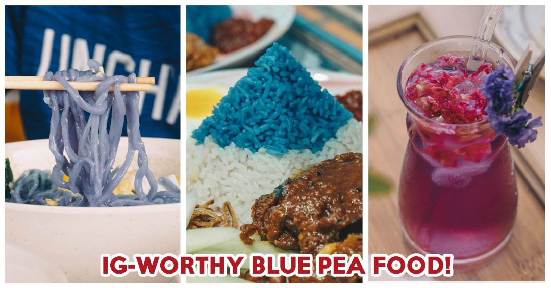 blue pea food