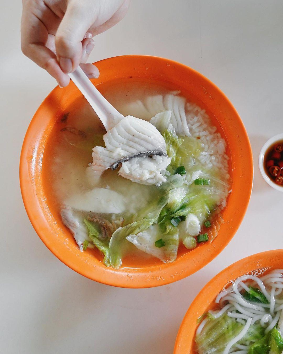 kwang kee fish soup newton food centre
