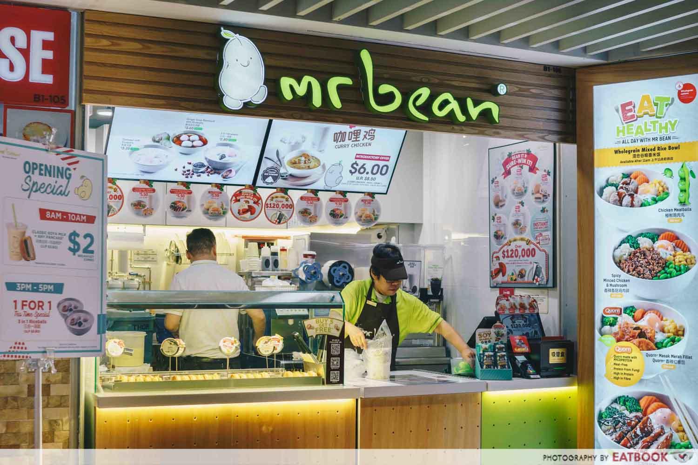 Overseas food Mr Bean