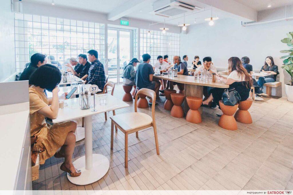Apollo Coffee Bar Main Dining Area