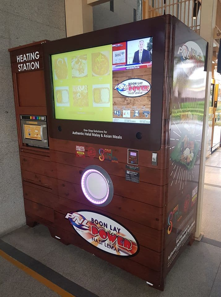 Boon Lay Power Nasi Lemak Vending Machine - Machine