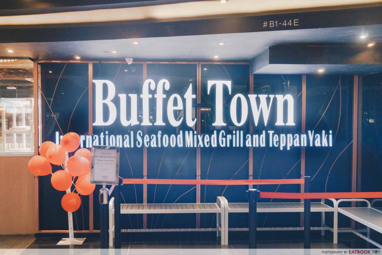 Buffet Town Storefront