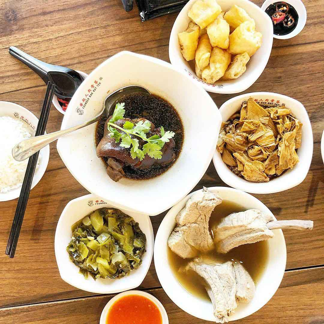 Chinese Food Spots - Founder Bak Kut Teh