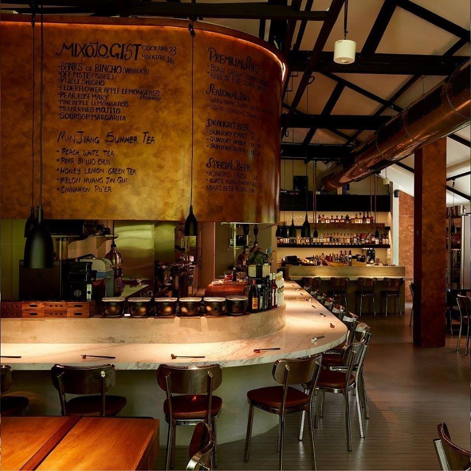 Dempsey Hil Restaurants - Bincho @ Min Jiang ambience
