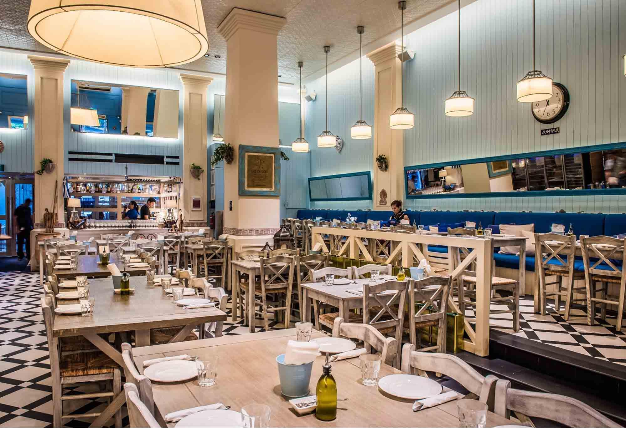 Dempsey Hil Restaurants - Blu Kouzina ambience