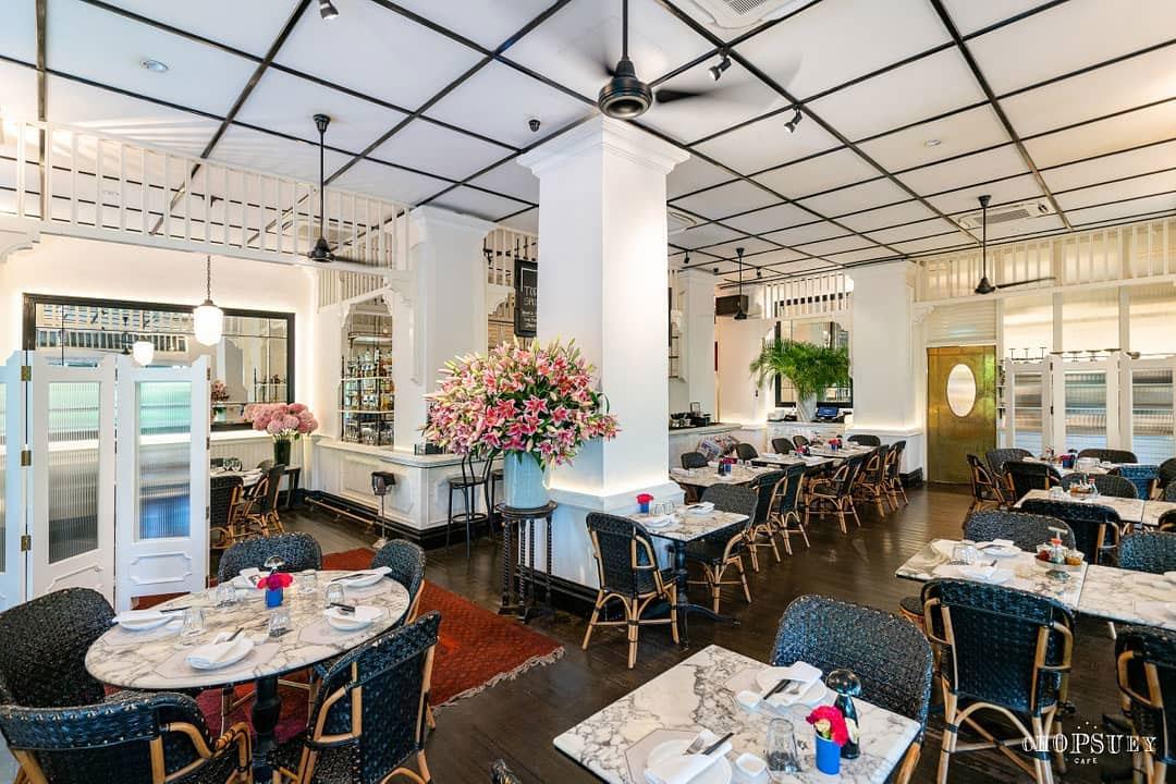 Dempsey Hil Restaurants - Chopsuey Cafe ambience
